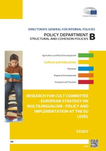 European Strategy on Multilingualism - Policy and Implementation at the EU Level