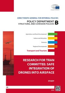 Safe Integration of Drones into Airspace