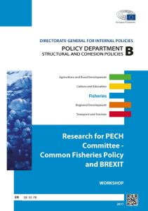Common Fisheries Policy and BREXIT