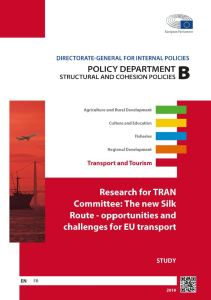 The new Silk Route - opportunities and challenges for EU transport