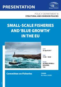 Small-scale Fisheries and 'Blue Growth' in the EU