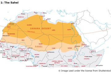 Map 1: The Sahel