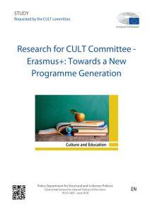 Erasmus+: Towards a New Programme Generation