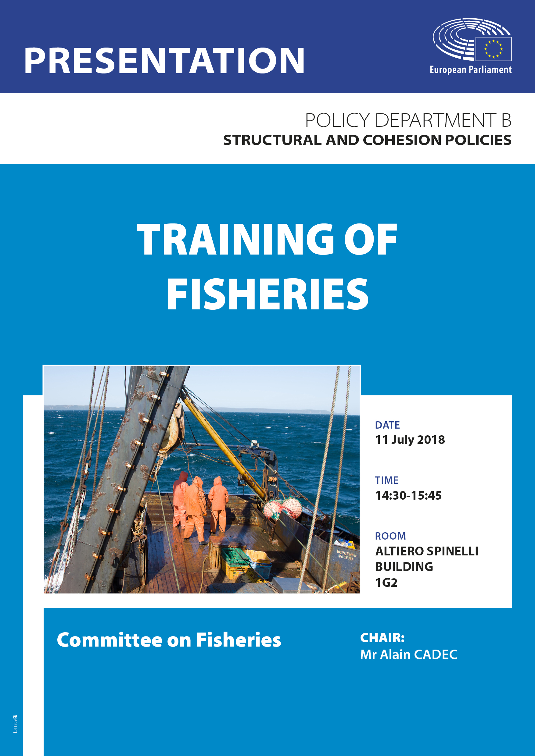 Training for Fishers - poster
