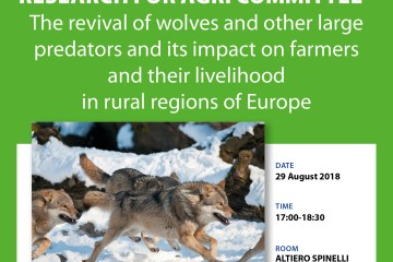 AGRI Study presentation: The revival of wolves and other large predators and its impact on farmers and their livelihood in rural regions of Europe