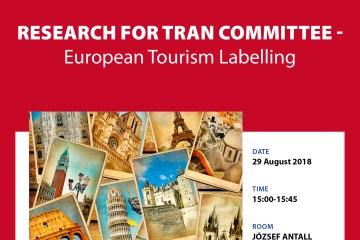 TRAN Study presentation: European Tourism Labelling