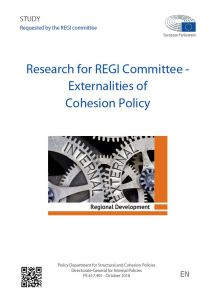 Externalities of Cohesion Policy