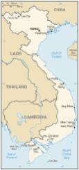 Figure 1: Map of Vietnam