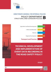 Technical Development and Implementation of Event Data Recording in the Road Safety Policy