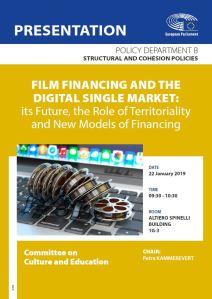 CULT FilmFinancing and the Digital Single Market