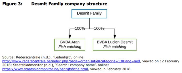 Figure 3: Desmit Family company structure