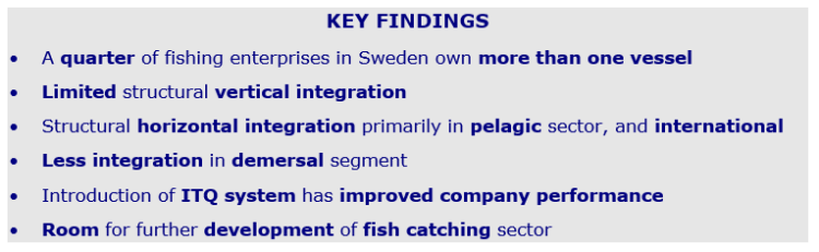 Key findings - Sweden