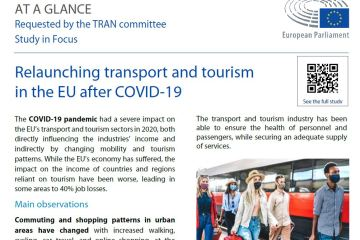 At a glance: Relaunching Transport and Tourism in the EU after COVID-19
