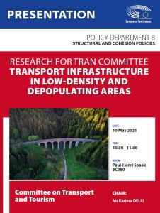 Transport infrastructure in low-density and depopulating areas