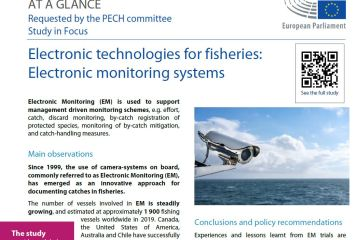 Workshop on electronic technologies for fisheries : Part II: Electronic monitoring systems