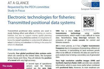 Electronic technologies for fisheries: Transmitted positional data systems