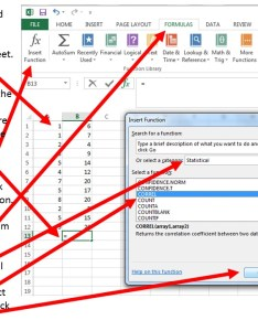 Calculating pearson    correlation coefficient with excel also using to calculate and graph data educational rh researchbasicscation uconn