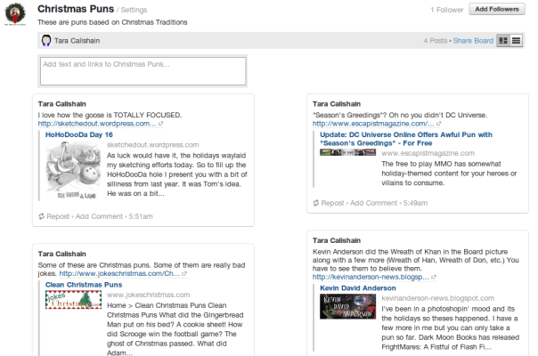 New Boards feature on Quora
