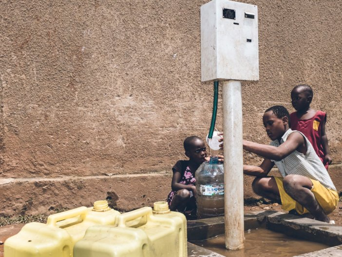 drinking water africa