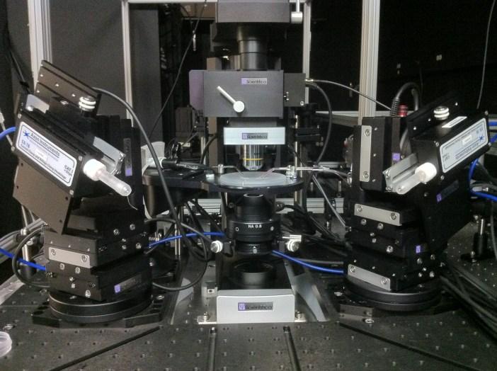 electrophysiology rig Schwartz lab