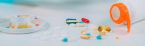 an assortment oif medicines
