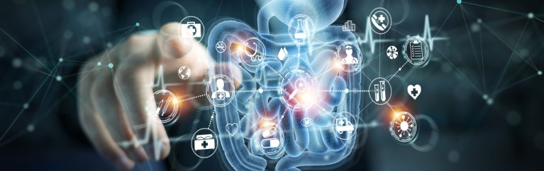 Dr Haijun Li develops novel scanning mechanisms for molecular imaging in the digestive tract.