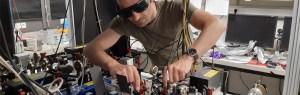 Professor Slama's optical set-up