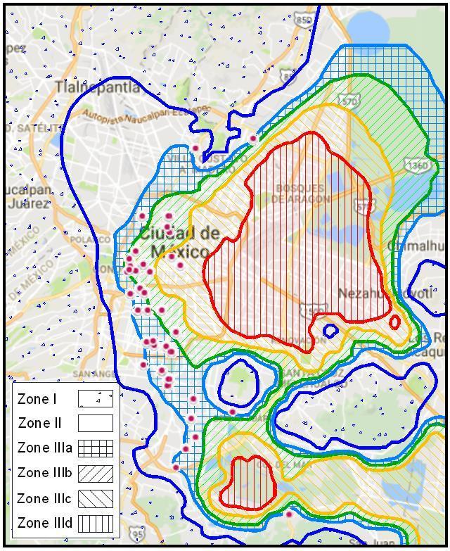 Mexico City Earthquake Map : mexico, earthquake, Types, Microzonation, According, Mexico, Seismic..., Download, Scientific, Diagram
