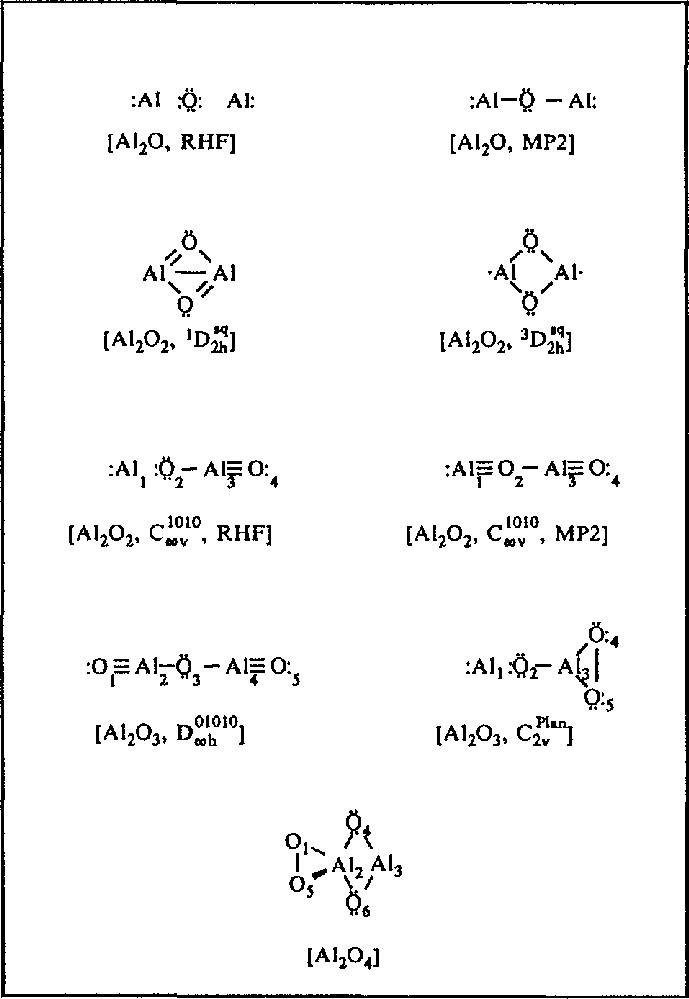 Lewis Structure For Al : lewis, structure, Lewis, Structures, Dinuclear, Aluminum, Oxides., Download, Scientific, Diagram