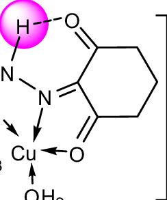 No3 1- : Structure, [Cu(L, )(NO3)H2O]NO3·3.5H2O, Complex., [Zn(L, Download, Scientific, Diagram