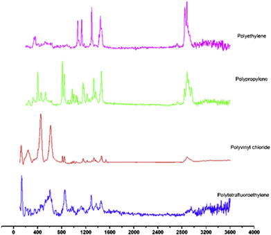 Raman Spectroscopy Spectra Of The Selected Microplastics