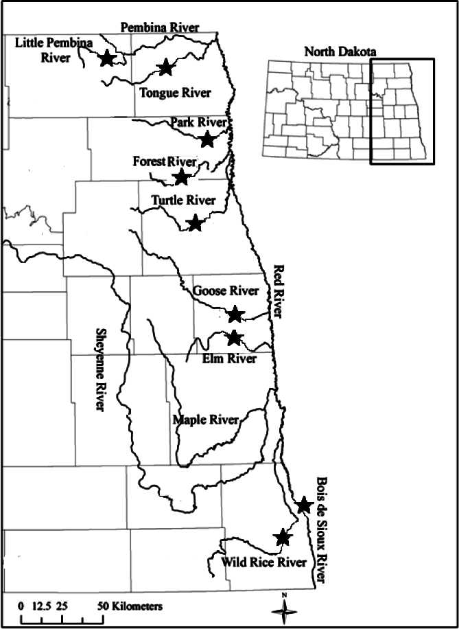 Red River Maps