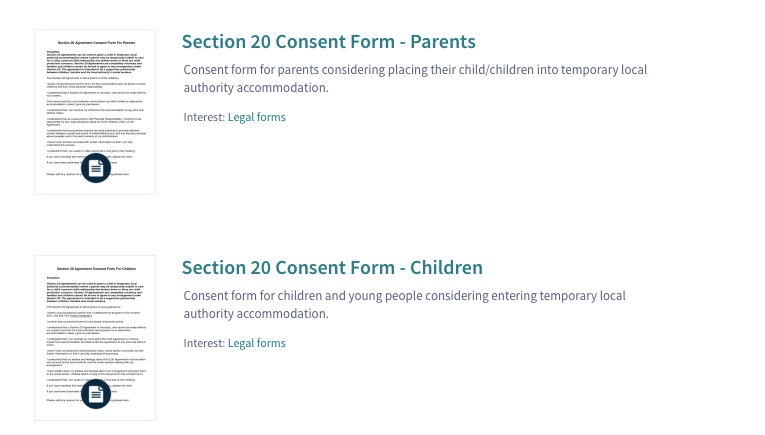 Section 20 Consent Forms For Parents and Children – Get Yours Here ...