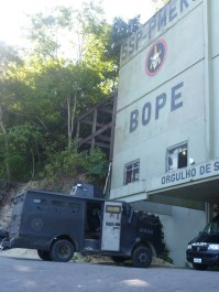 The headquarters of BOPE