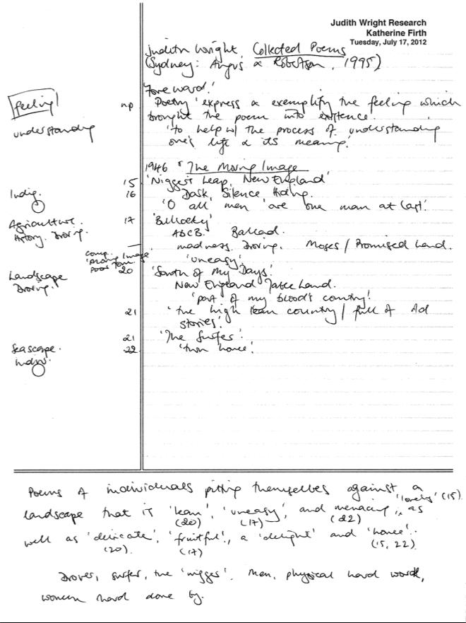 Cornell Method Notes