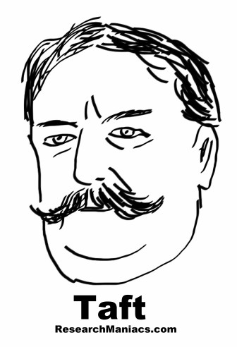 President William Howard Taft Facts Information And Trivia