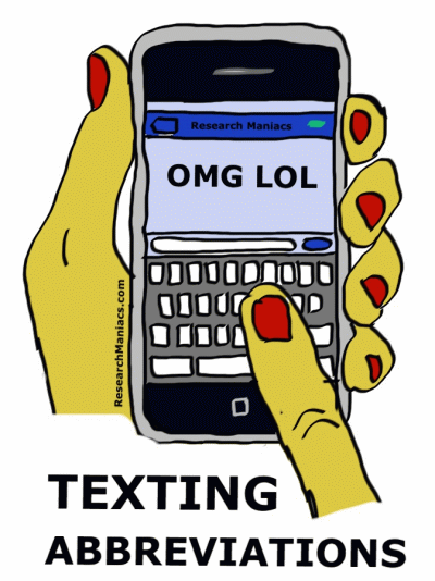 texting abbreviations and acronyms