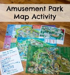Amusement Park Map Activity - ResearchParent.com [ 1000 x 1000 Pixel ]
