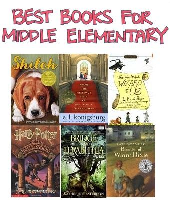 Best Books for Mid Elementary  ResearchParentcom