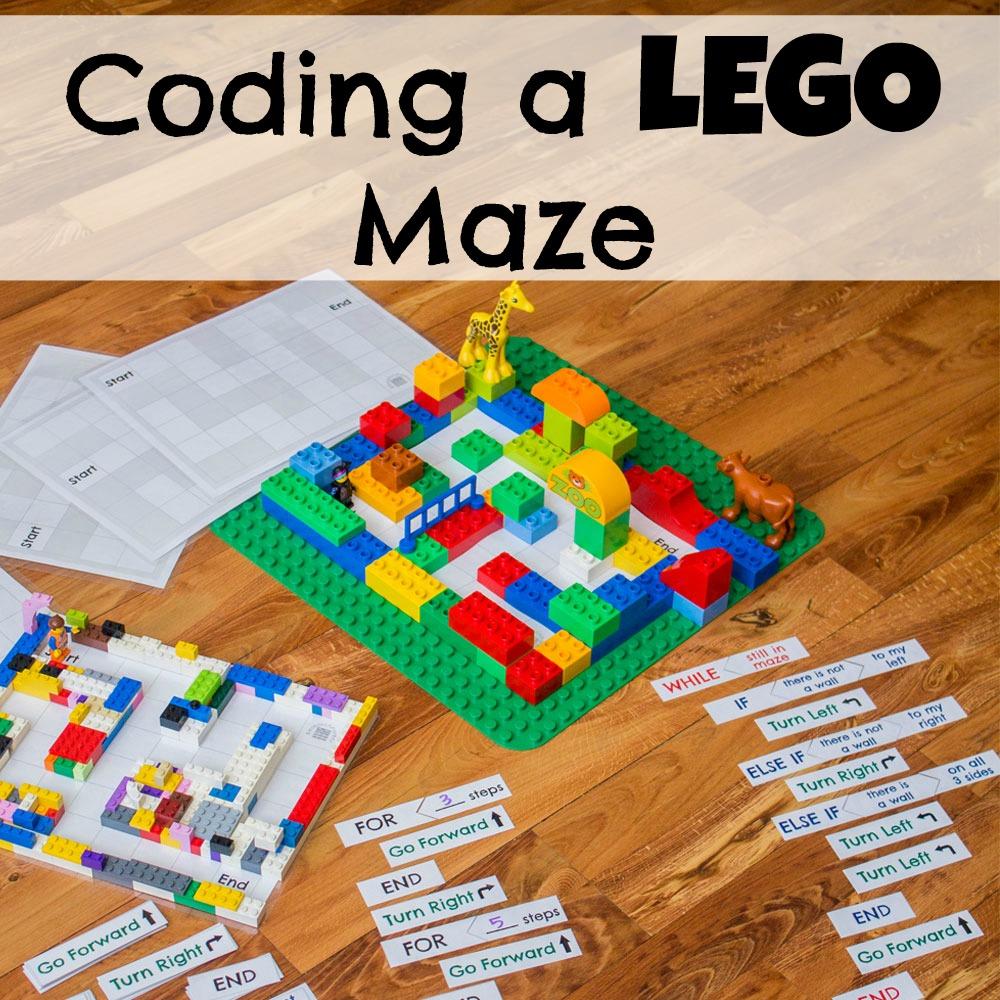 hight resolution of Coding a LEGO Maze - ResearchParent.com