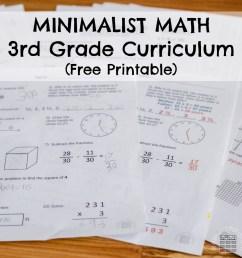 Third Grade Minimalist Math Curriculum - ResearchParent.com [ 1000 x 1000 Pixel ]