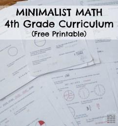 Fourth Grade Minimalist Math Curriculum - ResearchParent.com [ 1000 x 1000 Pixel ]