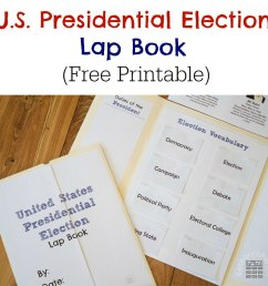United States Presidential Election Lap Book - ResearchParent.com [ 1000 x 1000 Pixel ]