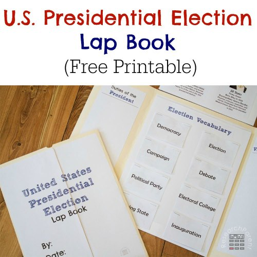small resolution of United States Presidential Election Lap Book - ResearchParent.com