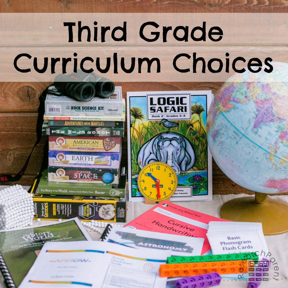 medium resolution of Third Grade Curriculum Choices - ResearchParent.com
