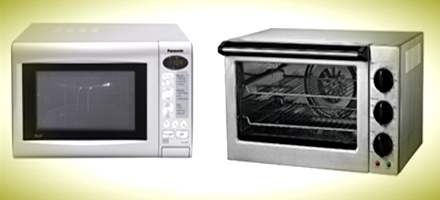 difference between microwave oven and