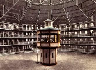 Panopticon - Carcere ideale progettato nel 1791 dal filosofo e giurista Jeremy Bentham