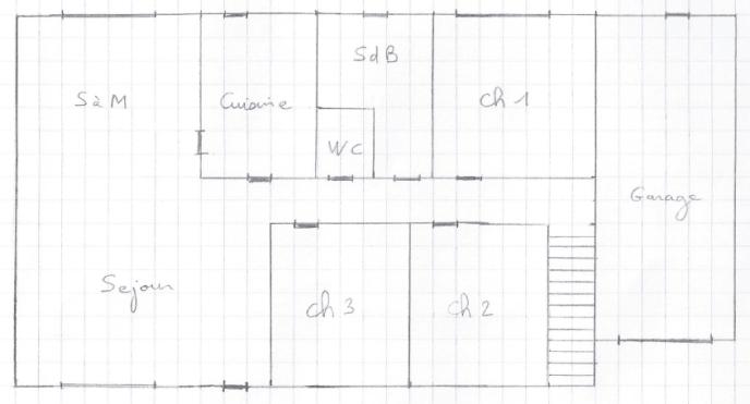 Plan Maison RDC Sans Prise RJ45