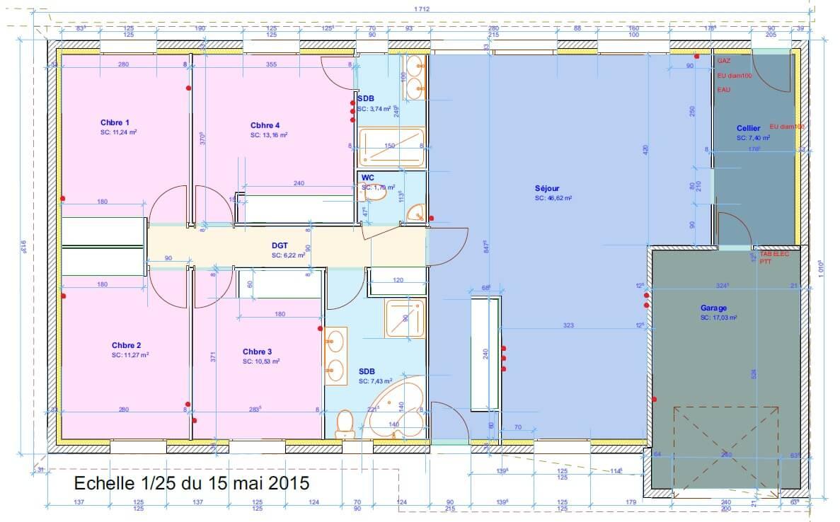 vdi th que grade 3 maison 125 m2 4 chambres r seau vdir seau vdi. Black Bedroom Furniture Sets. Home Design Ideas