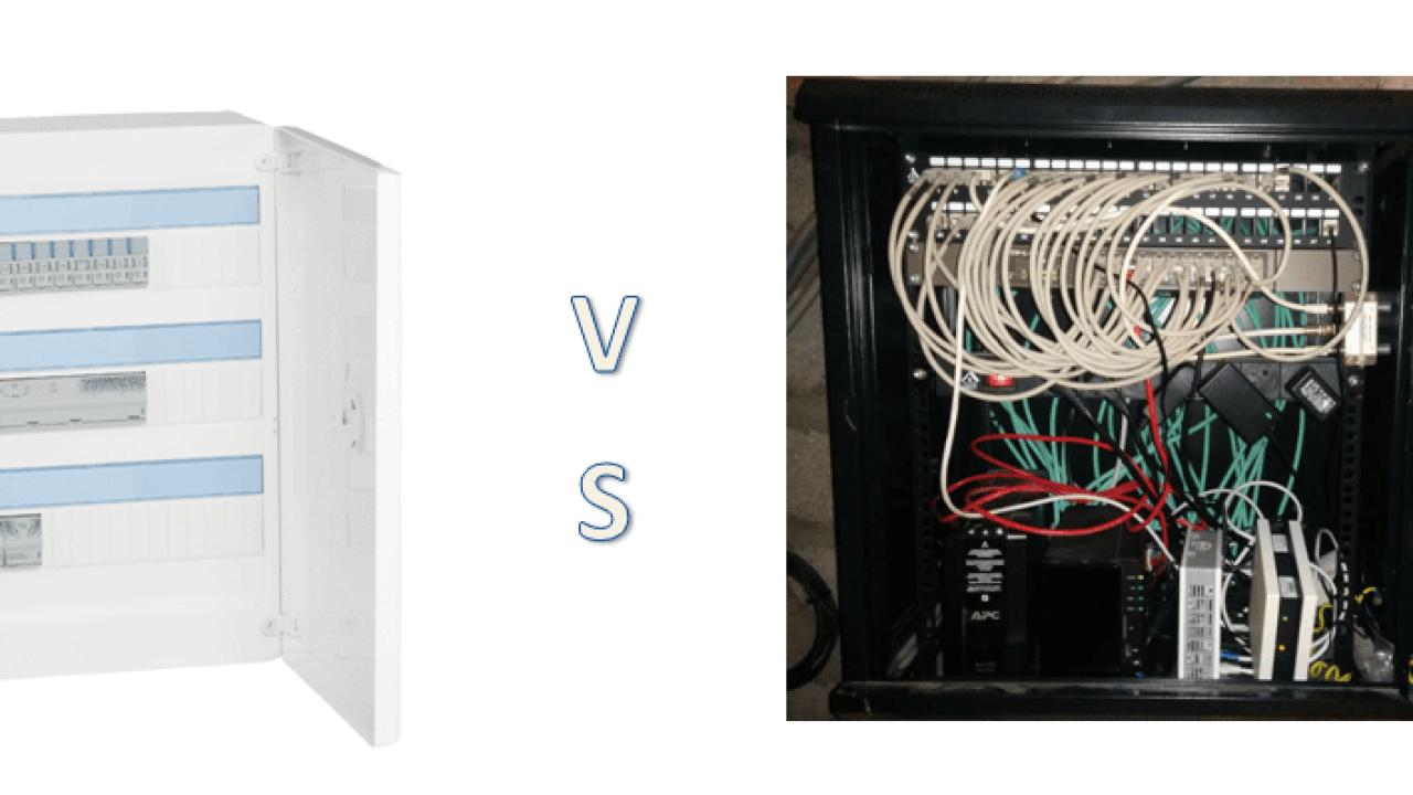 Renovation Electrique Soi Meme boitier de communication fait main vs coffret de